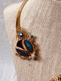 Bumble Bee and Beetle Fun/ Vintage Necklace