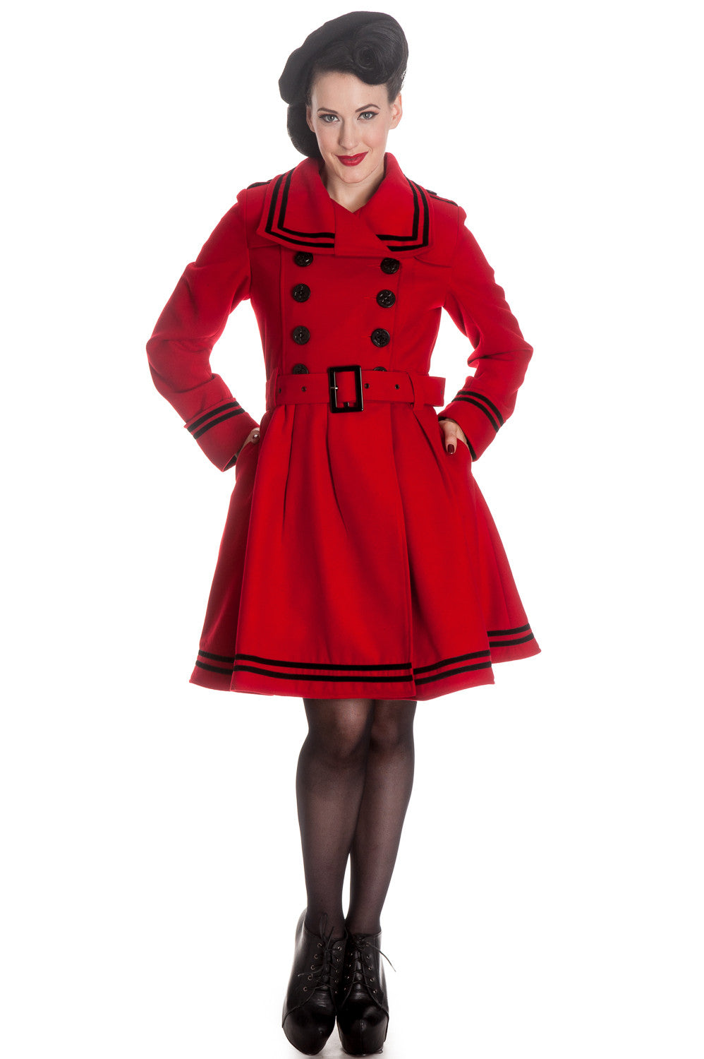 """Little Red"" Winter Coat"