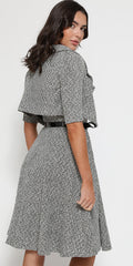 Aggi Monochrome Tweed Twin Set