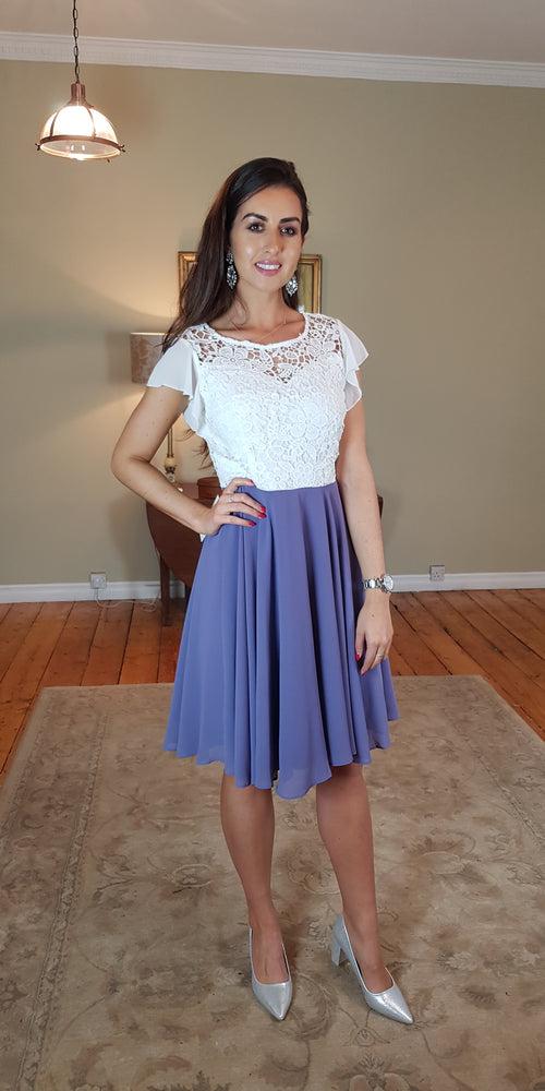 Alison Tea Dress - Lavender