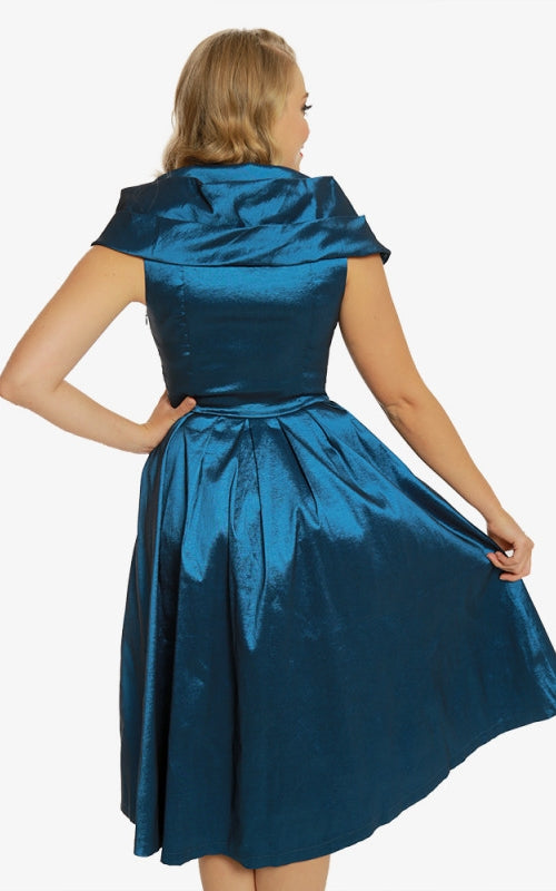 Amber Blue Swing Dress