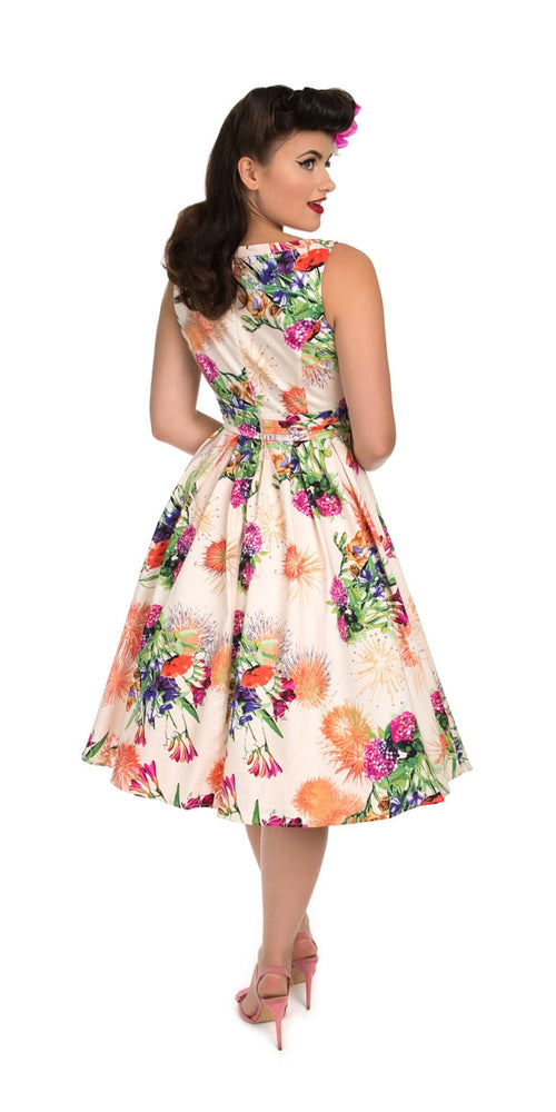 d342399a11 Anna Multi Floral Swing Dress