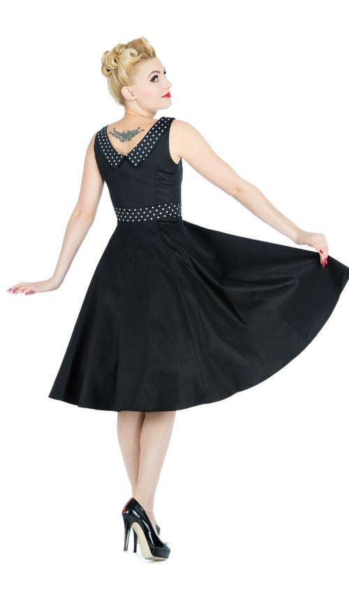 Black Recital Evening Dress