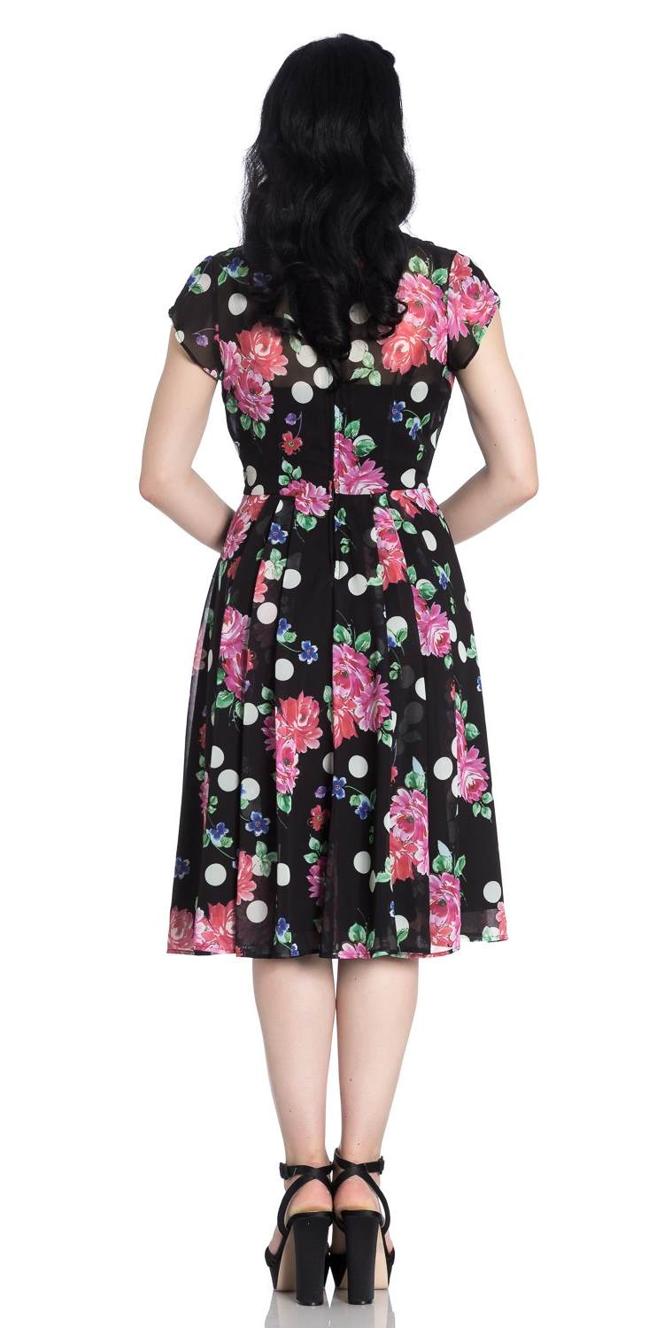 Bloomsbury 1950's Chiffon Dress