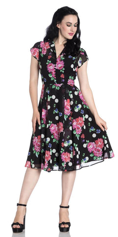 Annabella Floral Swing Dress
