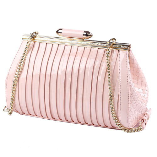Blush Patent Handbag