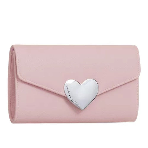 Isabelle Evening Clutch Bag - Blush Pink