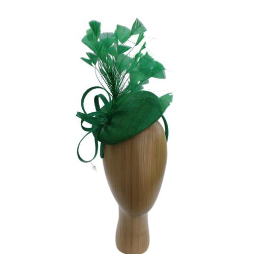 Caroline Emerald Green Fascinator