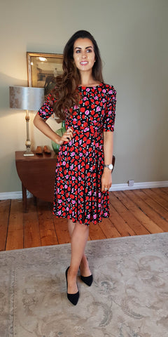 Freya Floral Swing Dress