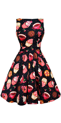 Anne Cherry Wiggle Dress