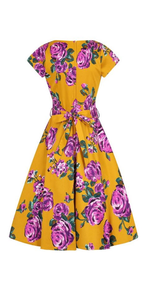 Day Dress - Purple Rose