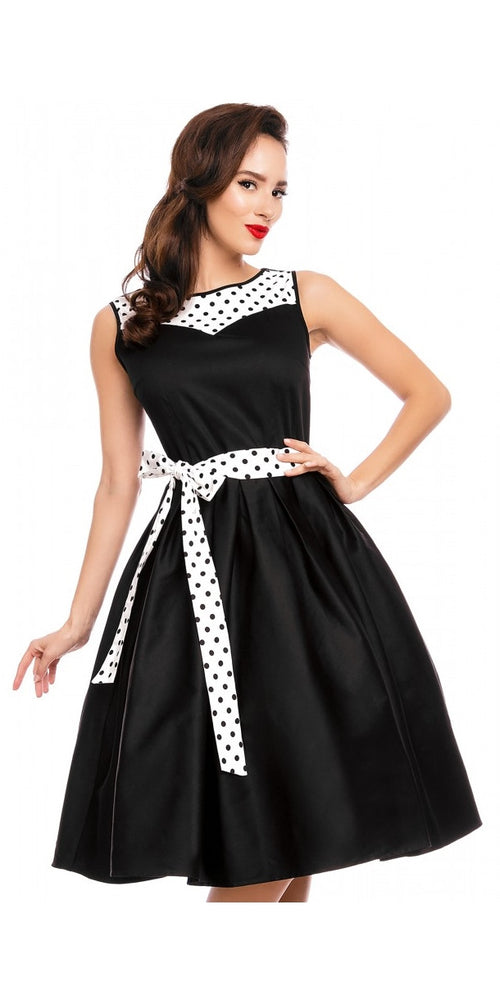 Elizabeth Vintage Inspired Swing Dress