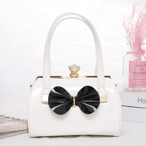 Cross Over Bag - White