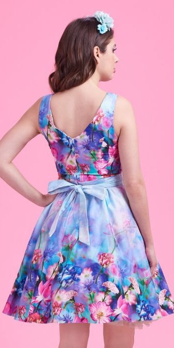 Fairy Border Tea Dress