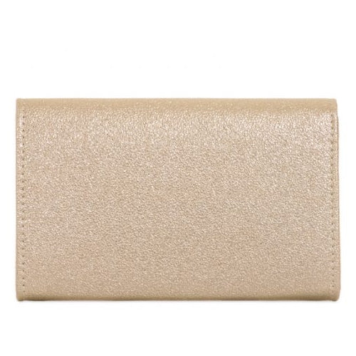 Gold Metallic Clutch Bag