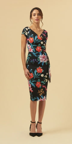 Ashcroft Dark Rose Summer Dress