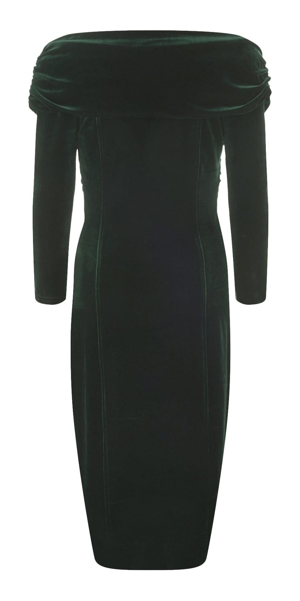 Hollie Vintage Velvet Wiggle Dress