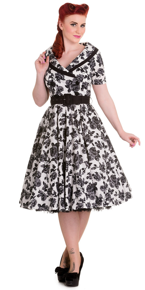 Honor Floral Swing Dress