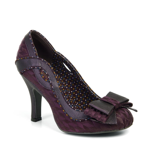 Ruby Shoo Ivy ( Burgundy)