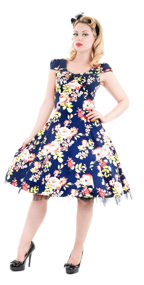 Jennifer Summer Floral Swing Dress