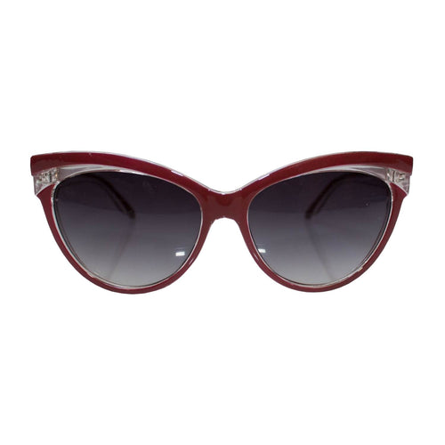 Judy Classic 50's Style Sunglasses - Red
