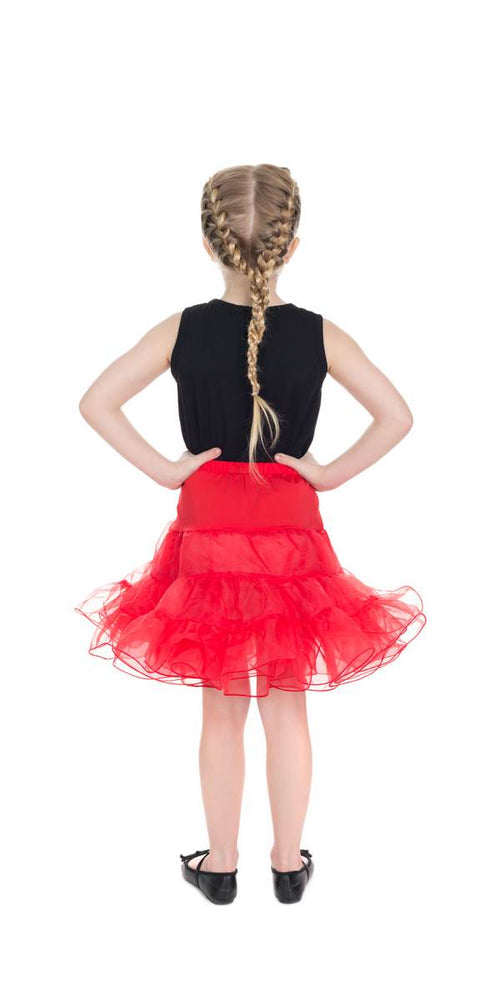Kids Red Petticoat/Underskirt