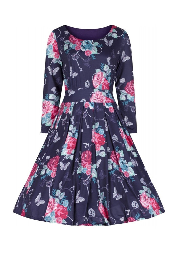 Kylie Floral Swing Dress