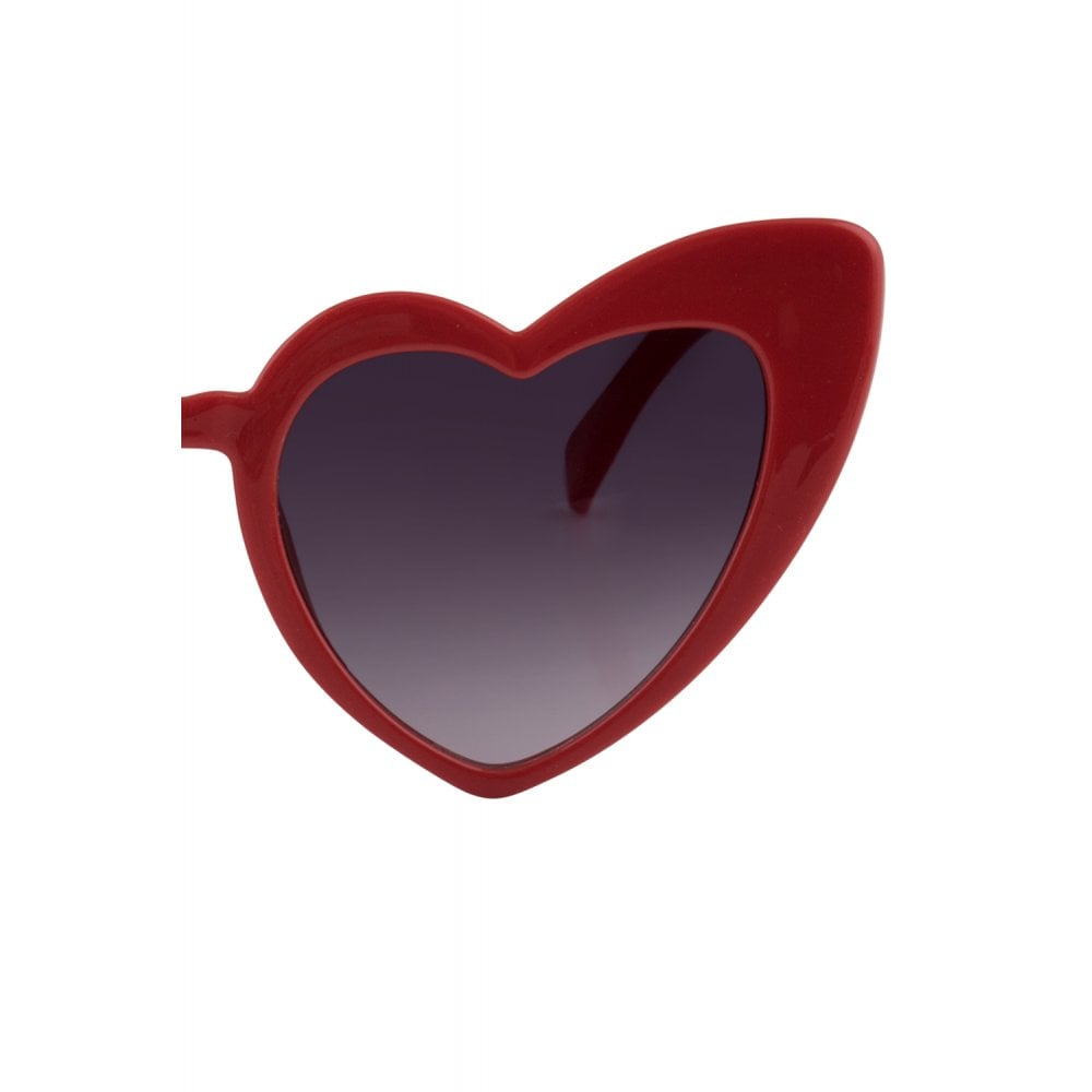 Love Is In The Air Sunglasses - Red