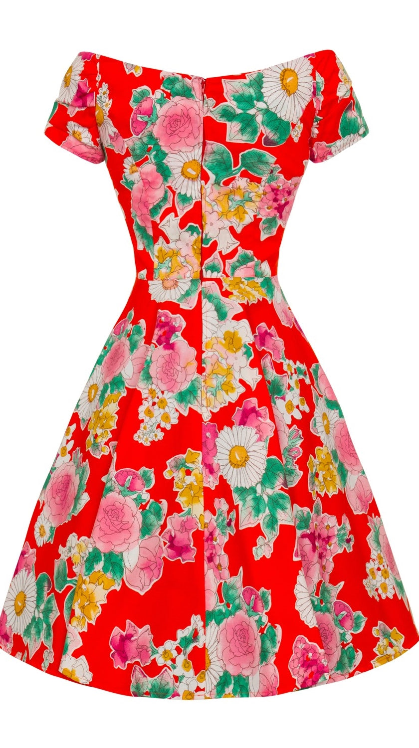 Marguerita 1950's Summer Tea Dress