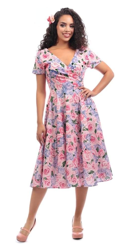 Maria Country Garden Swing Dress