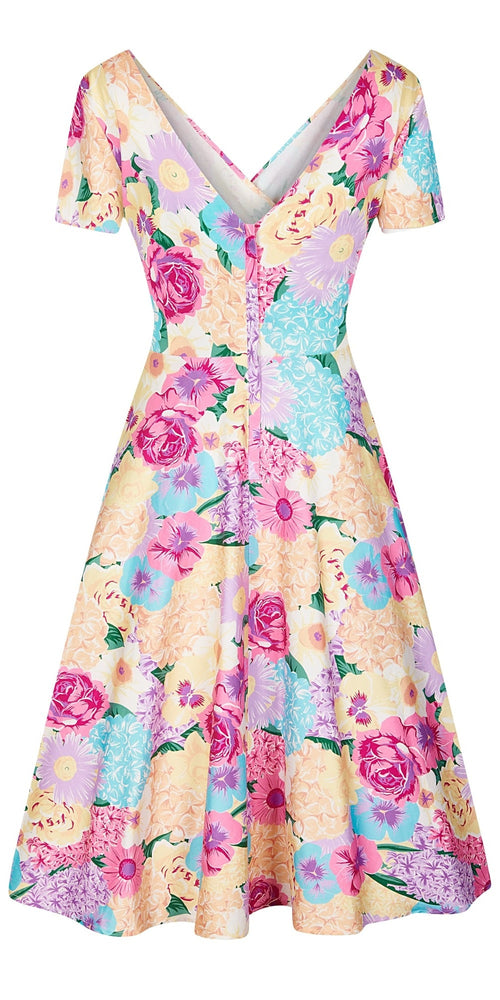 Maria English Garden Swing Dress