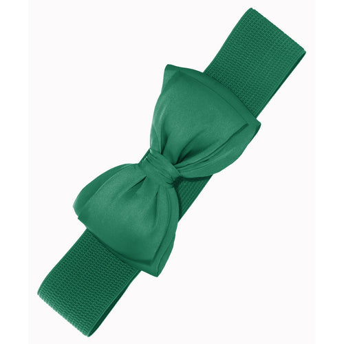 Bella Bow Belt - Green