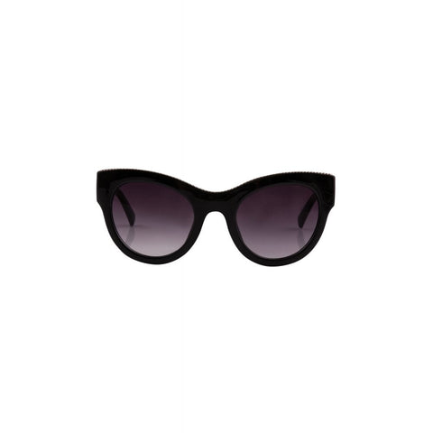 Love Is In The Air Sunglasses - Black