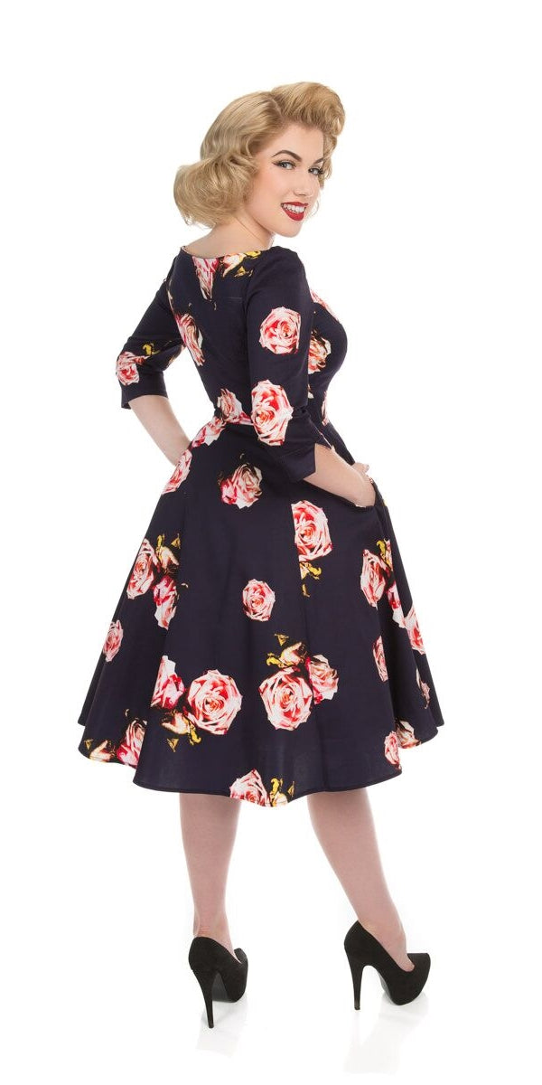 Rosalina Floral Swing Dress