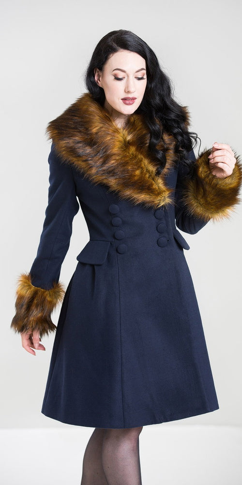 Roxy Coat - Navy