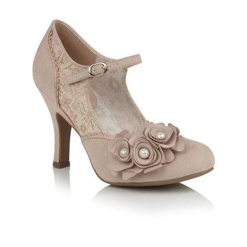 Ruby Shoo Antonia - Rose Gold