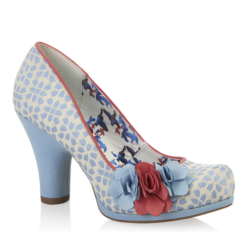 Ruby Shoo Eva (Sky Blue)