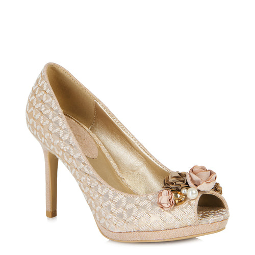 Ruby Shoo Sonia (Rose Gold)