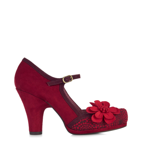Ruby Shoo Tanya (Red)