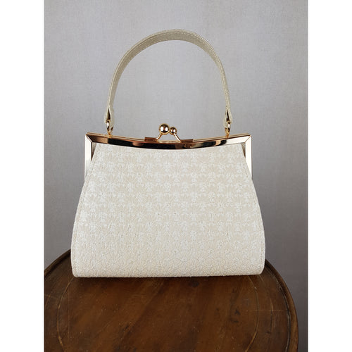 Ruby Shoo Toulouse Bag Cream/Gold