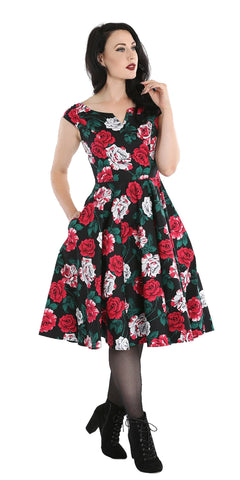Dolores 50's Cherry Print Pencil Dress