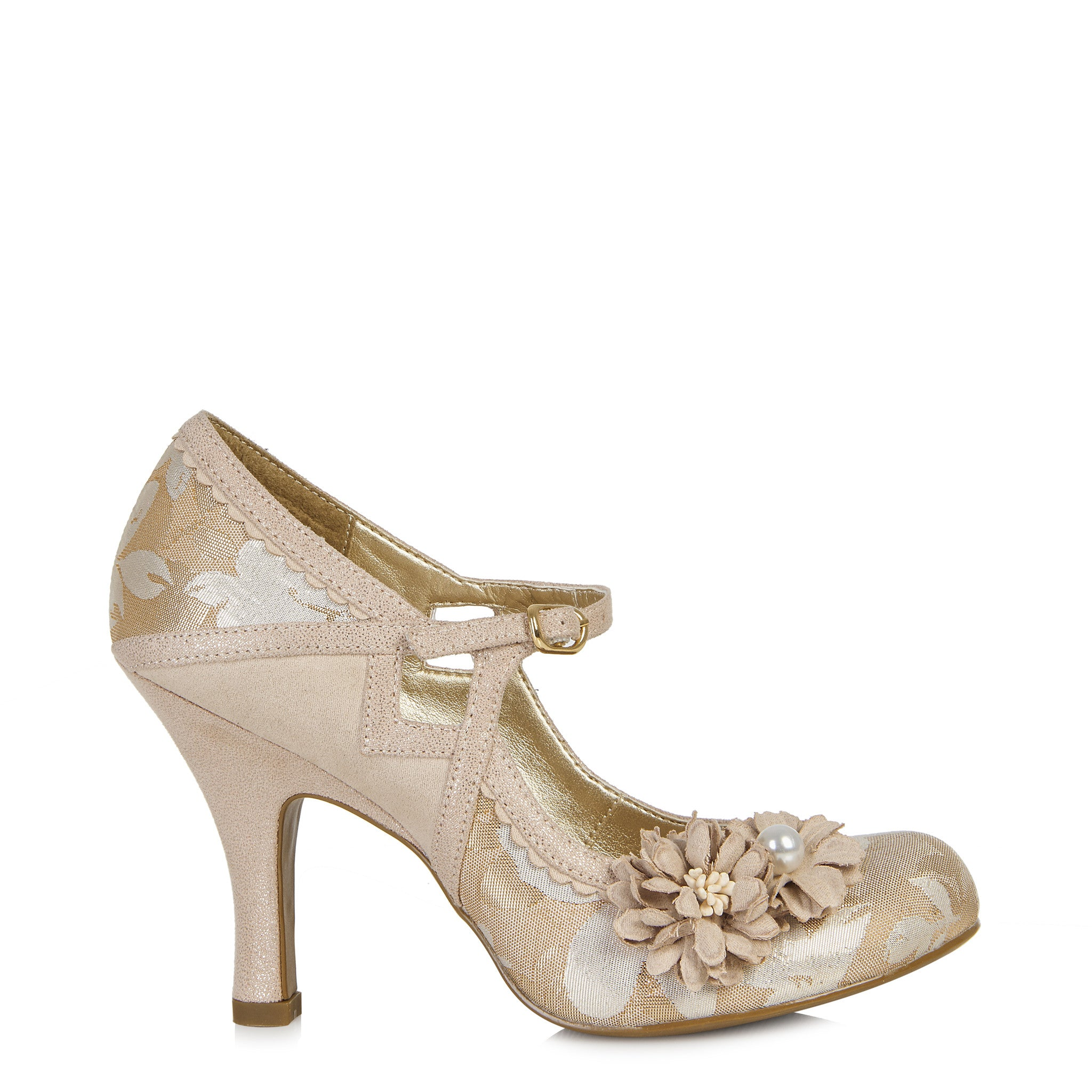 Ruby Shoo Yasmin (Rose Gold)