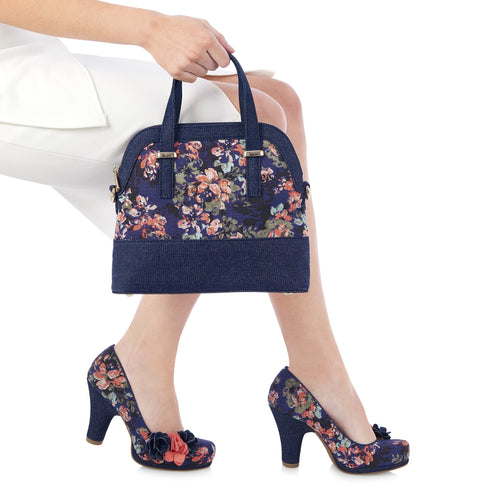 Ruby Shoo Lima (Floral)