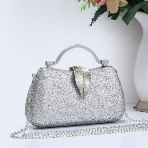 Soft Pearl Clutch Bag