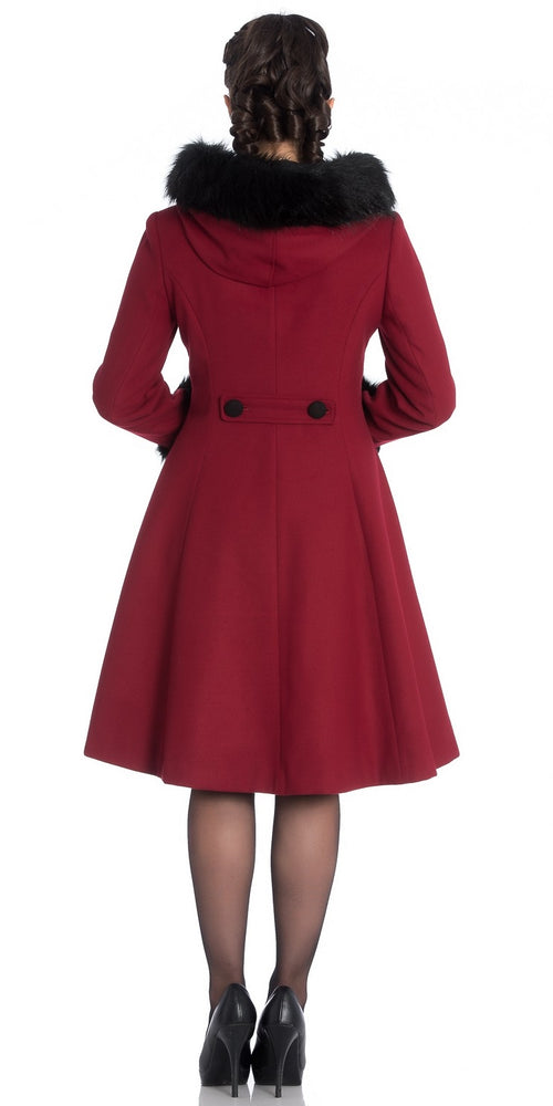 Sherwood Coat - Burgundy