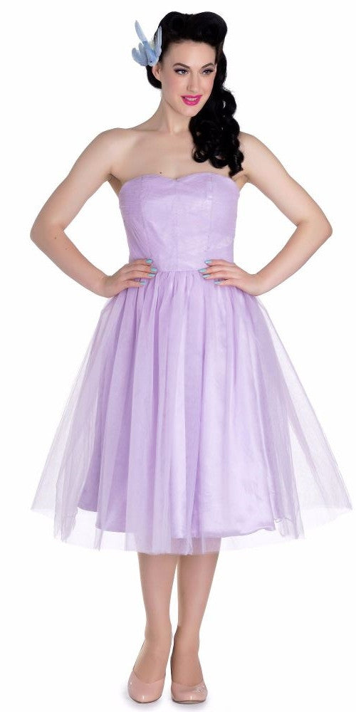 Tamara Tulle Party Dress - Lavender