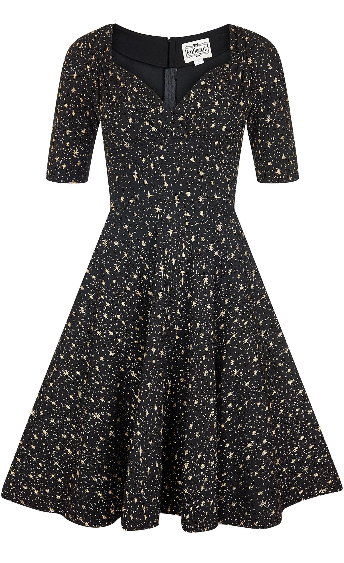 Trixie Doll Atomic Star Swing Dress