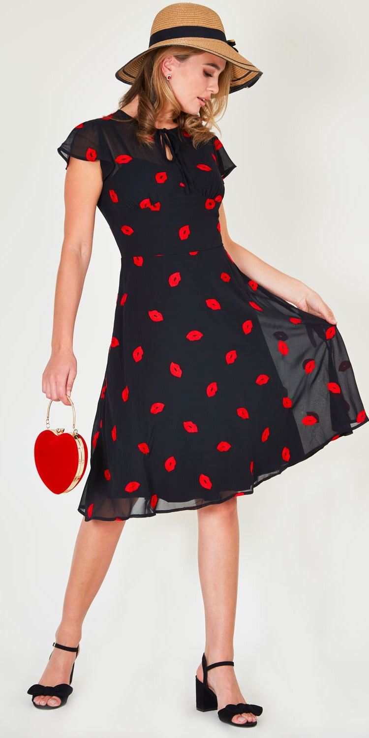 Valerie Lips Dress