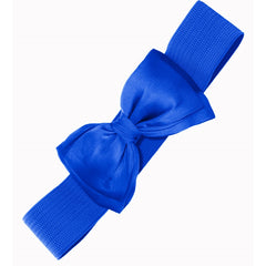 Bella Bow Belt - Royal Blue