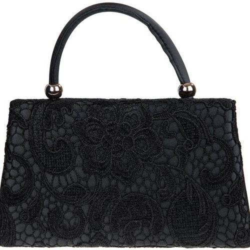 Vintage Purse - Black Lace